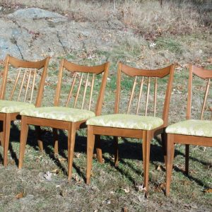 Vintage Mid Century Modern Dining Chairs by Red Lion Table Company