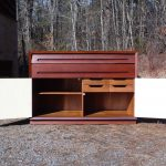 Credenza Cabinet Writing Desk