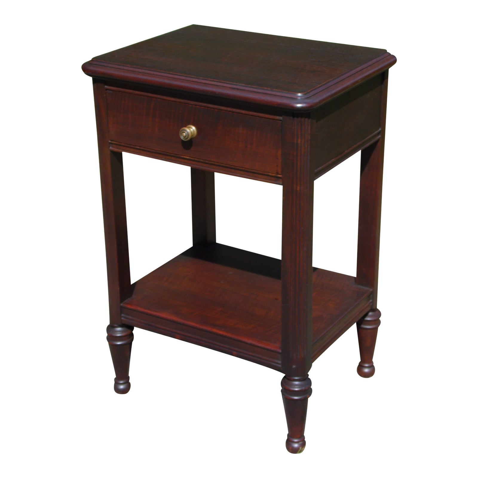 Federal Style Mahogany Nightstand