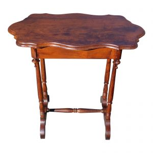 Antique 19th C Victorian Occasional Table Entry Table Console Table