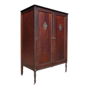 Vintage Chifferobe Wardrobe Armoire Hall Coat Closet