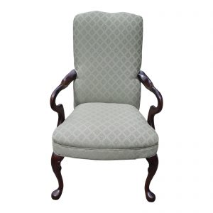 Masterfield Furniture Co. Queen Anne Style Upholstered Arm Chair