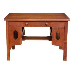 Antique Mission Oak Arts & Crafts Desk Library Table