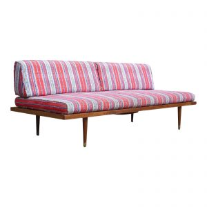 Vintage 1960's Mid Century Modern Adrian Pearsall Daybed Sofa Couch